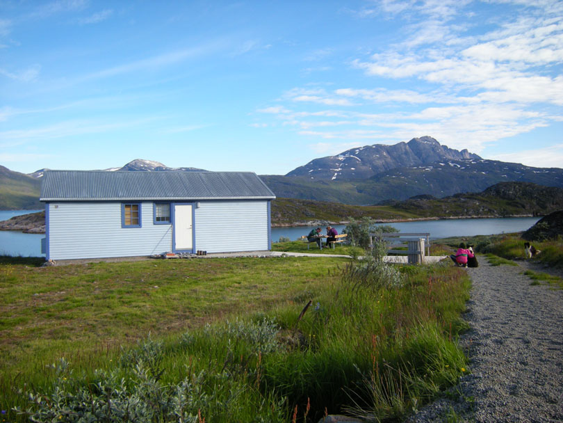Ipiutaq guest farm, cottage guesthouse near the fjord